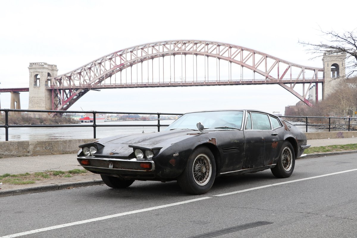 # 23252 1967 Maserati Ghibli with Matching Numbers For Sale (picture 1 of 5)