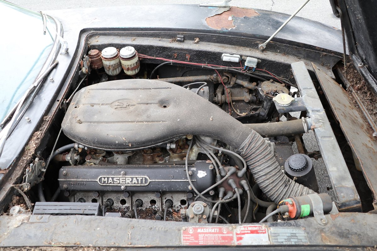 # 23252 1967 Maserati Ghibli with Matching Numbers For Sale (picture 5 of 5)