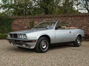 Maserati Biturbo 2.0 Spider Zagato with only 31.826 kms!