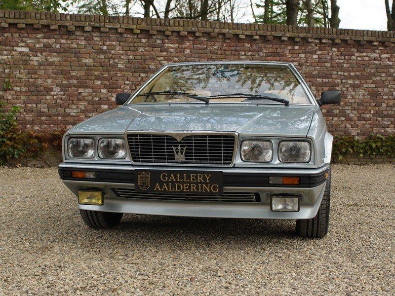 1986 Maserati Biturbo 2.0 Spider Zagato with only 31.826 ...