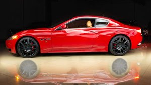 2010  Maserati GranTurismo Sport F1 Red(~)Tan 25k miles $42.9