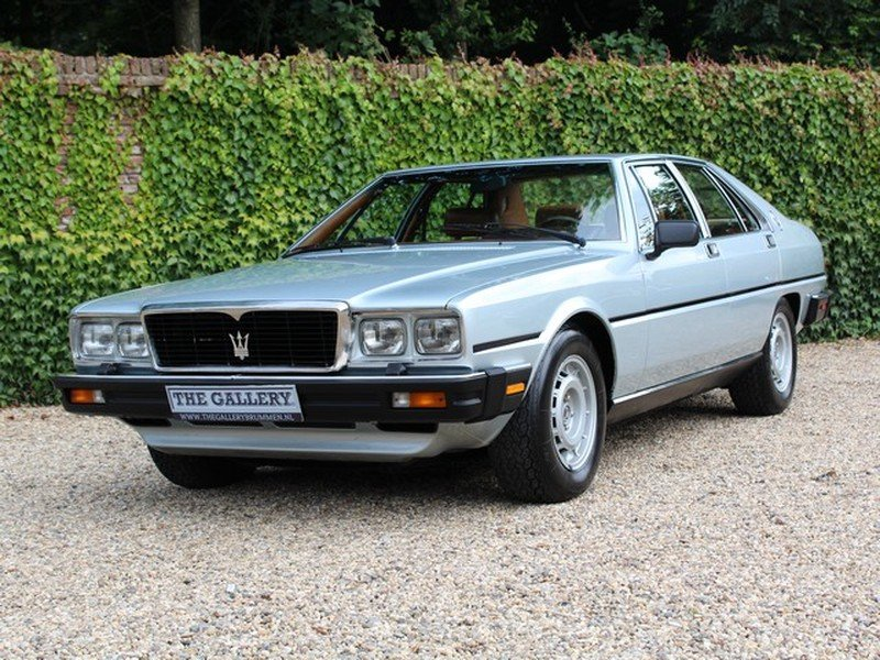 1985 Maserati QP Series III For Sale (picture 1 of 6)