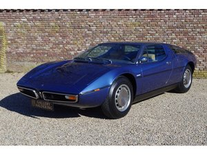 1972 Maserati Bora 4700 European version, only 65040 KMS from new