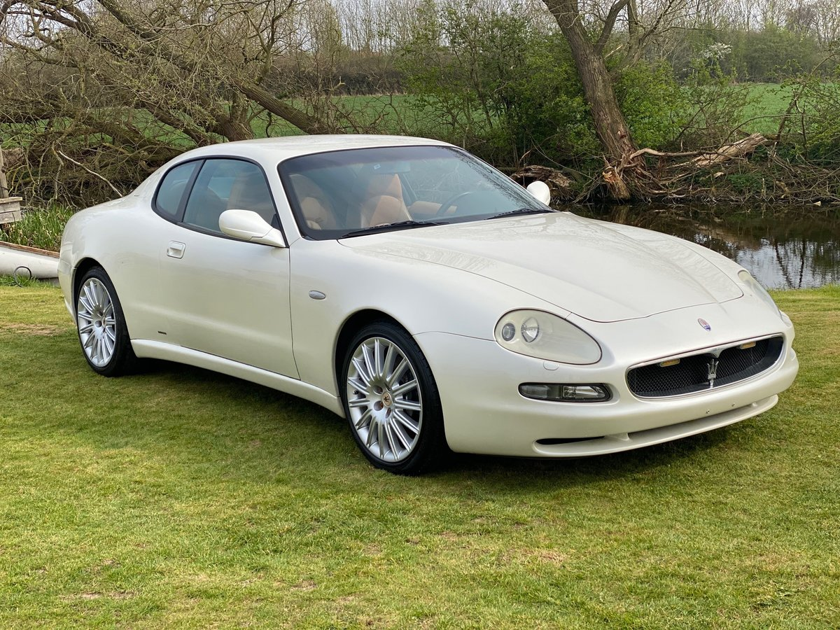 2002 MASERATI COUPE 4200 F1 CAMBIOCORSA LEFT HAND DRIVE LHD For Sale (picture 1 of 6)