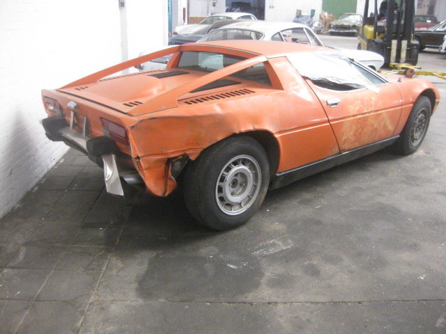 1974 Maserati Merak Coupe 3.0 , Project ( Ex Holywood ) For Sale (picture 2 of 6)
