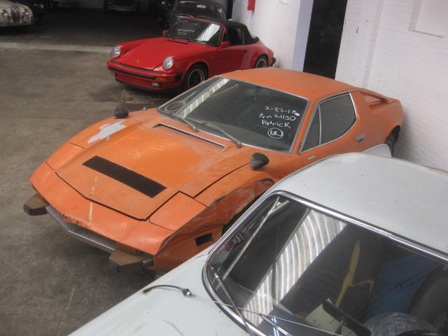 1974 Maserati Merak Coupe 3.0 , Project ( Ex Holywood ) For Sale (picture 3 of 6)
