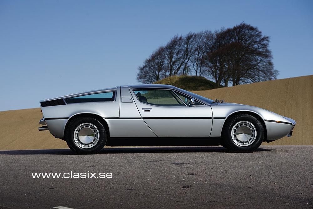 1973 Maserati Bora very original in excellent condition For Sale (picture 1 of 6)