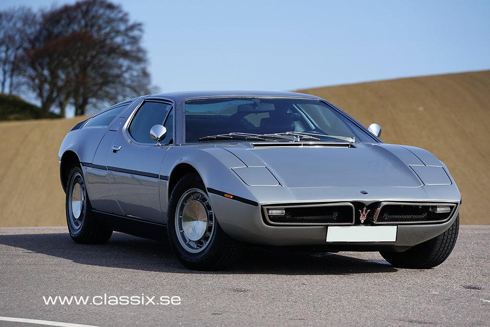 1973 Maserati Bora very original in excellent condition For Sale (picture 3 of 6)