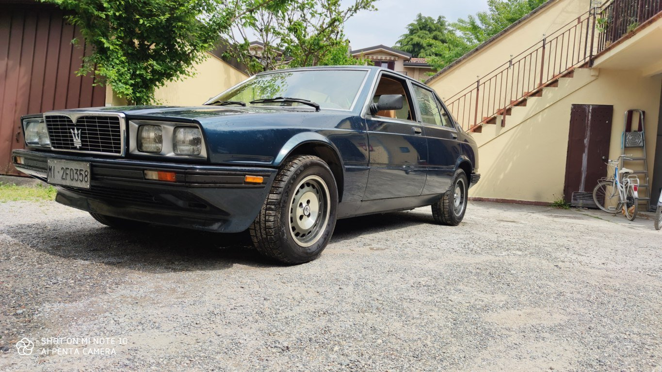 1987 conserved maserati 420 i For Sale (picture 1 of 6)