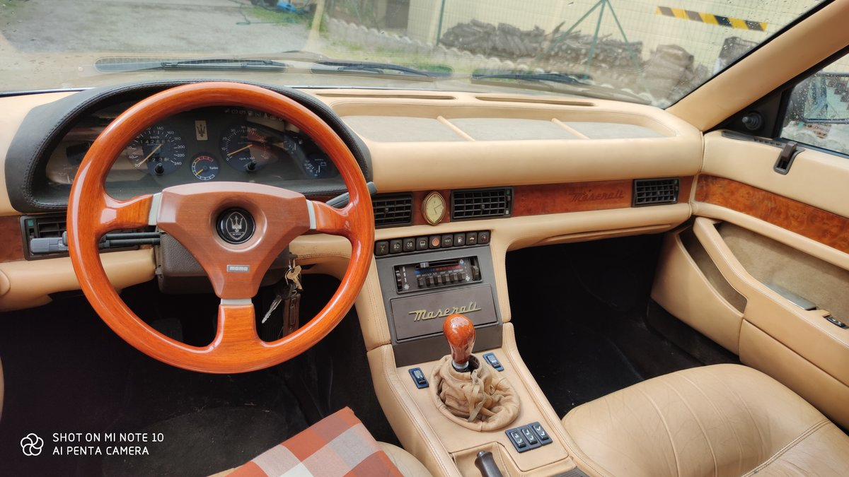 1987 conserved maserati 420 i For Sale (picture 3 of 6)