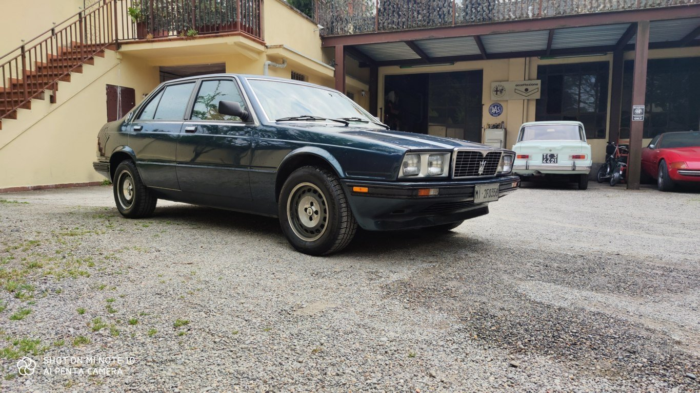 1987 conserved maserati 420 i For Sale (picture 6 of 6)