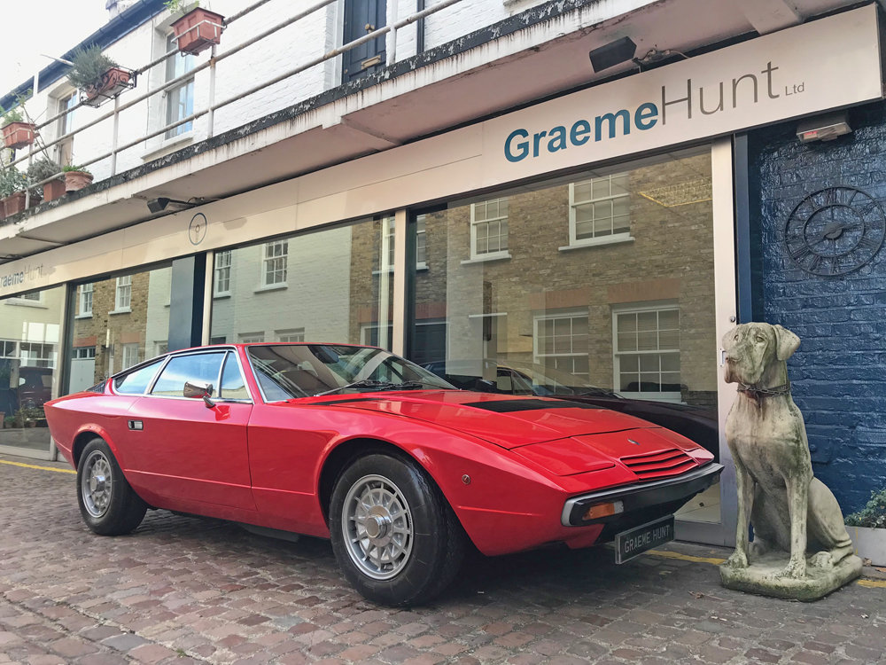 1979 Maserati Khamsin - restored condition For Sale (picture 1 of 24)