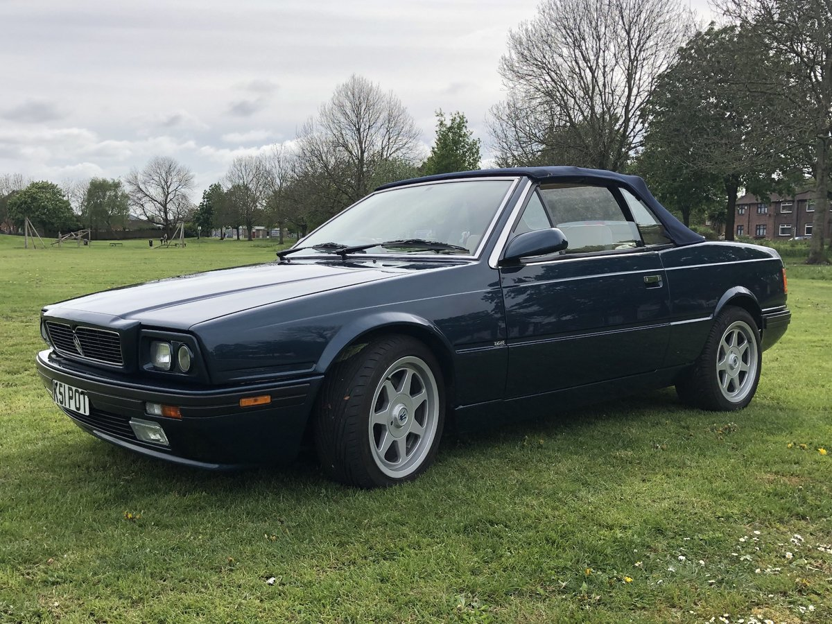 1993 MASERATI BITURBO SPYDER 2.8 For Sale | Car And Classic