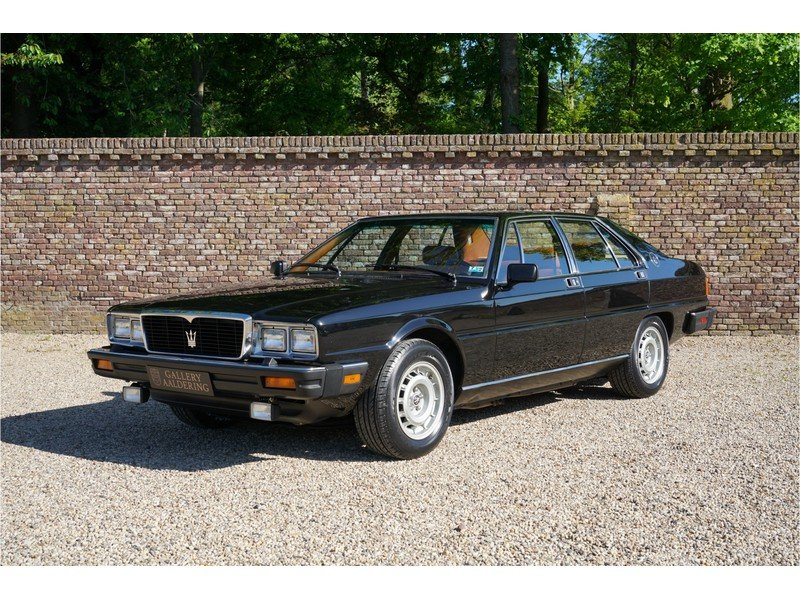 1985 Maserati Quattroporte Series 3, Only 16250 Miles from ...