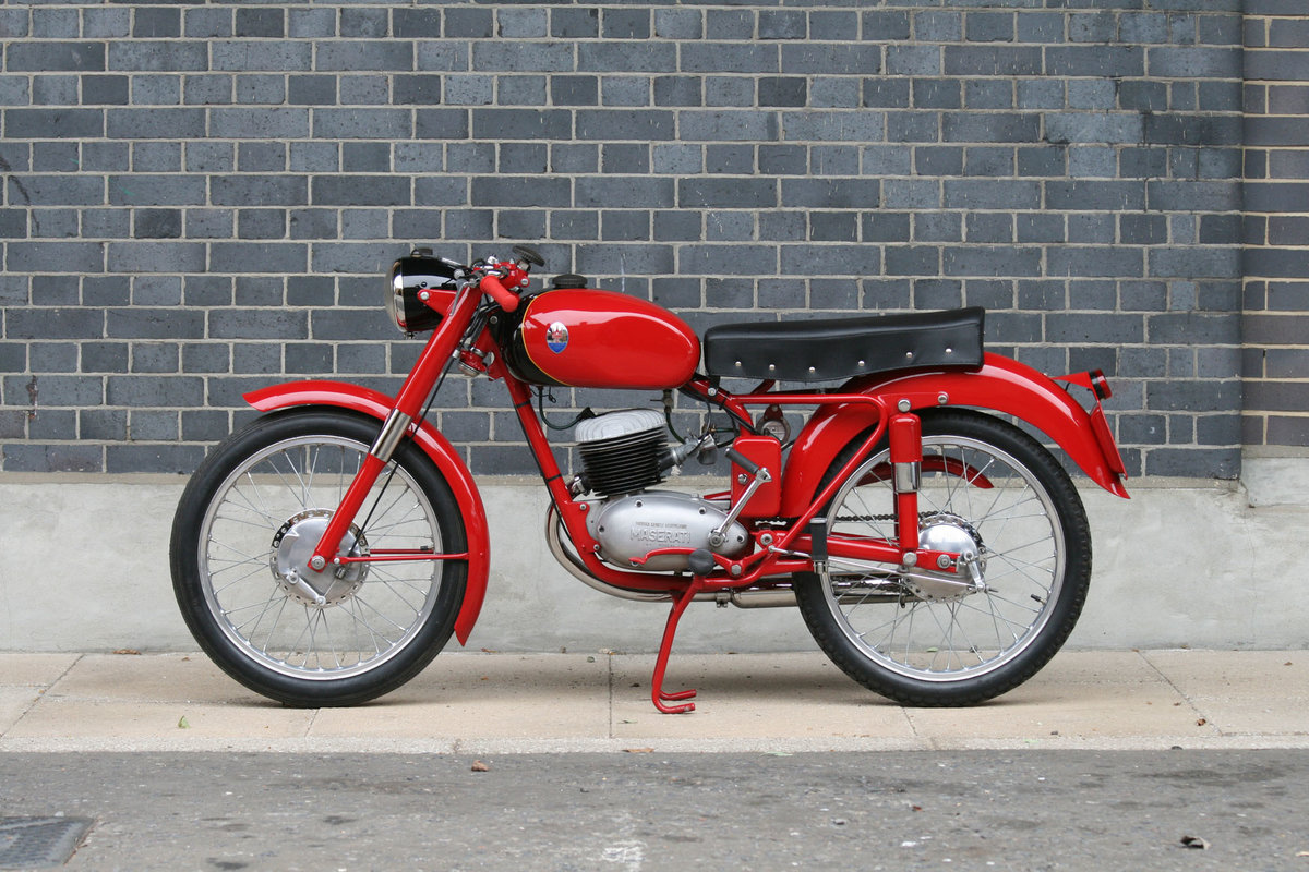 1955 Maserati L/125/T2 Turismo Veloce Motorcycle For Sale (picture 4 of 6)