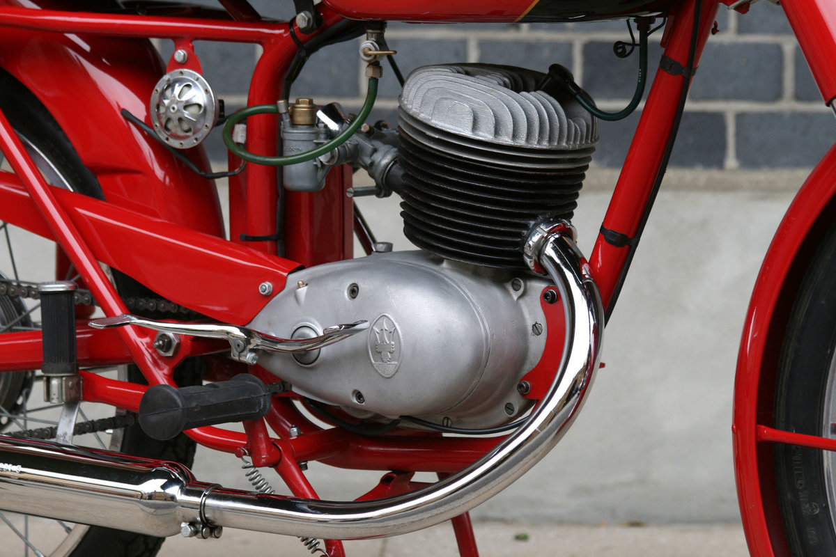 1955 Maserati L/125/T2 Turismo Veloce Motorcycle For Sale (picture 5 of 6)