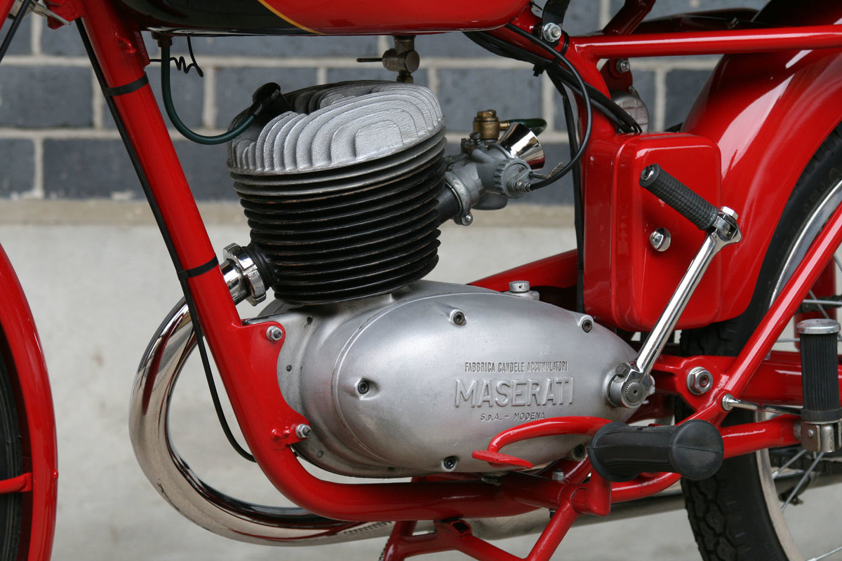 1955 Maserati L/125/T2 Turismo Veloce Motorcycle For Sale (picture 6 of 6)