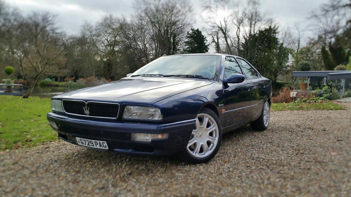 1998 Maserati QPIV Evoluzione.   For Sale (picture 1 of 6)