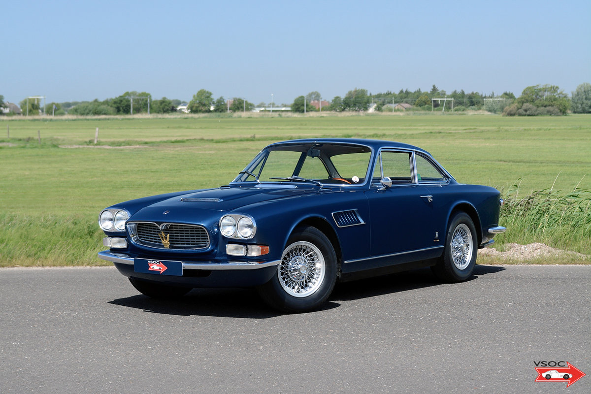 1967 Maserati 3700 GTi Sebring Series 2 - Fantastic matching nr. For Sale (picture 1 of 6)