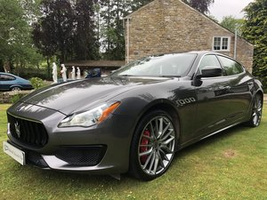 INCREDIBLE 2018my MASERATI QUATTROPORTE GRANSPORT V6D