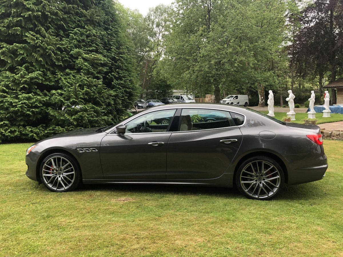 INCREDIBLE 2018my MASERATI QUATTROPORTE GRANSPORT V6D For Sale (picture 2 of 6)