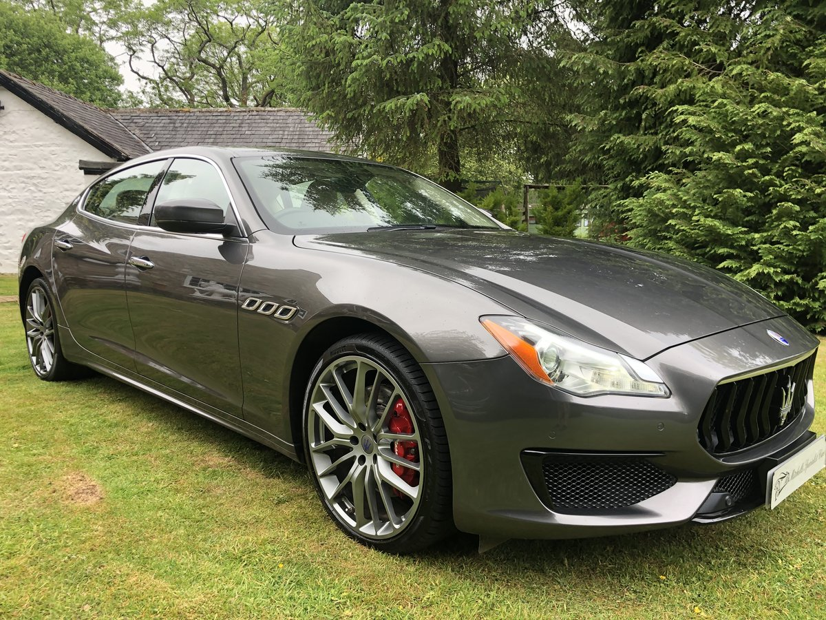 INCREDIBLE 2018my MASERATI QUATTROPORTE GRANSPORT V6D For Sale (picture 3 of 6)