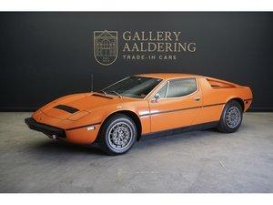 1975 Maserati Merak 3000 matching numbers, manual gearbox, origin For Sale