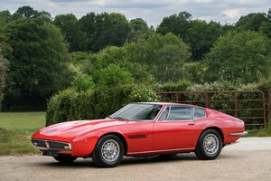 1972 Maserati Ghibli 4.9SS - 5 Speed ZF  For Sale