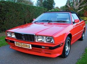 1987 Maserati Biturbo Mint - full documented history