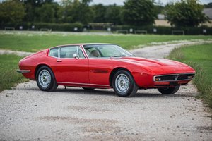1970 Maserati Ghibli SS - 1 of just 12 RHD cars