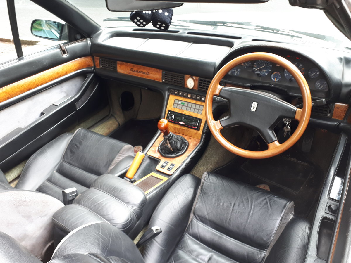 1989 Maserati Zagato Syder Manual bitirbo 2.8v6  For Sale (picture 2 of 6)