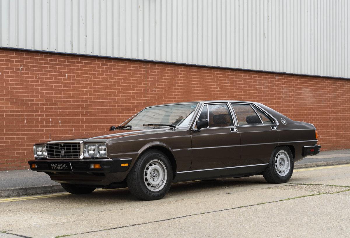 1982 Maserati Quattroporte III (LHD) For Sale (picture 1 of 24)