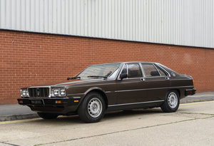 1982 Maserati Quattroporte III (LHD) For Sale