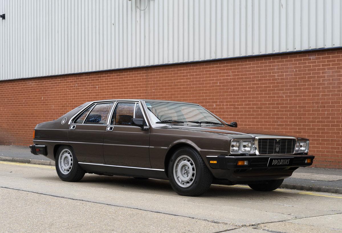 1982 Maserati Quattroporte III (LHD) For Sale (picture 2 of 24)