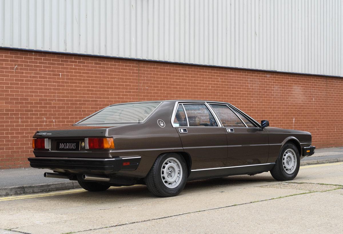 1982 Maserati Quattroporte III (LHD) For Sale (picture 3 of 24)