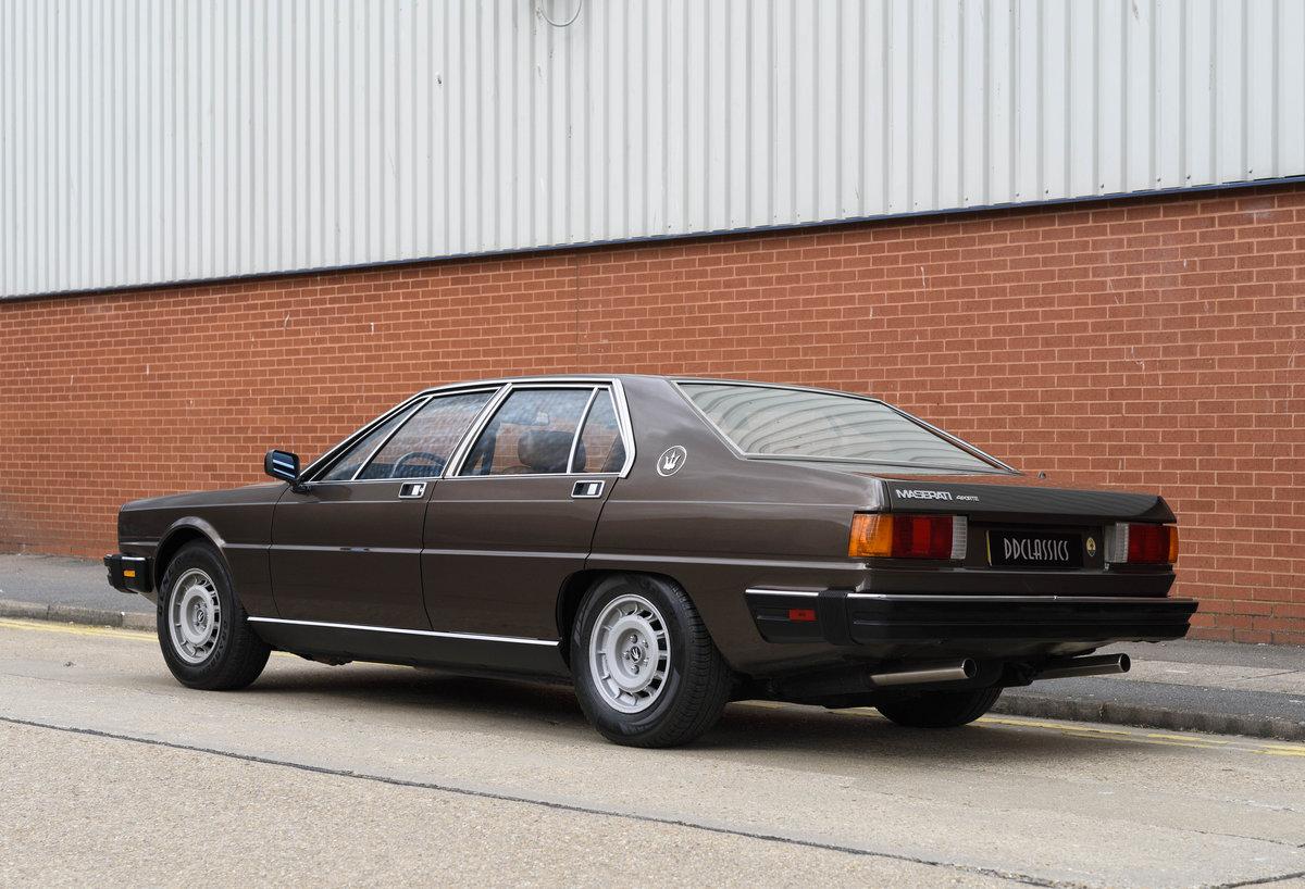1982 Maserati Quattroporte III (LHD) For Sale (picture 4 of 24)