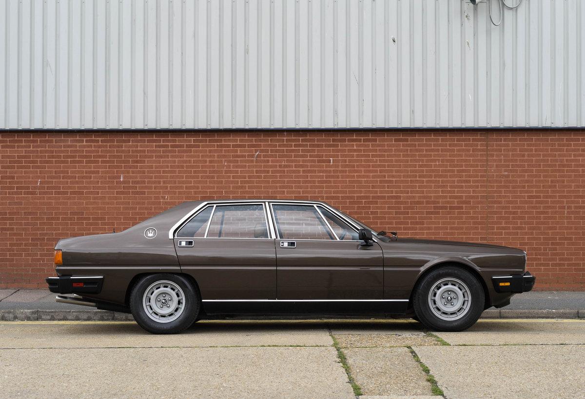1982 Maserati Quattroporte III (LHD) For Sale (picture 5 of 24)