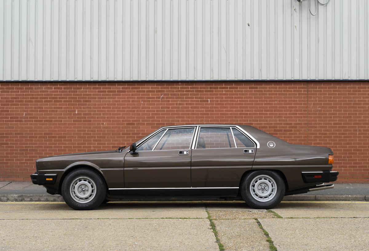 1982 Maserati Quattroporte III (LHD) For Sale (picture 6 of 24)