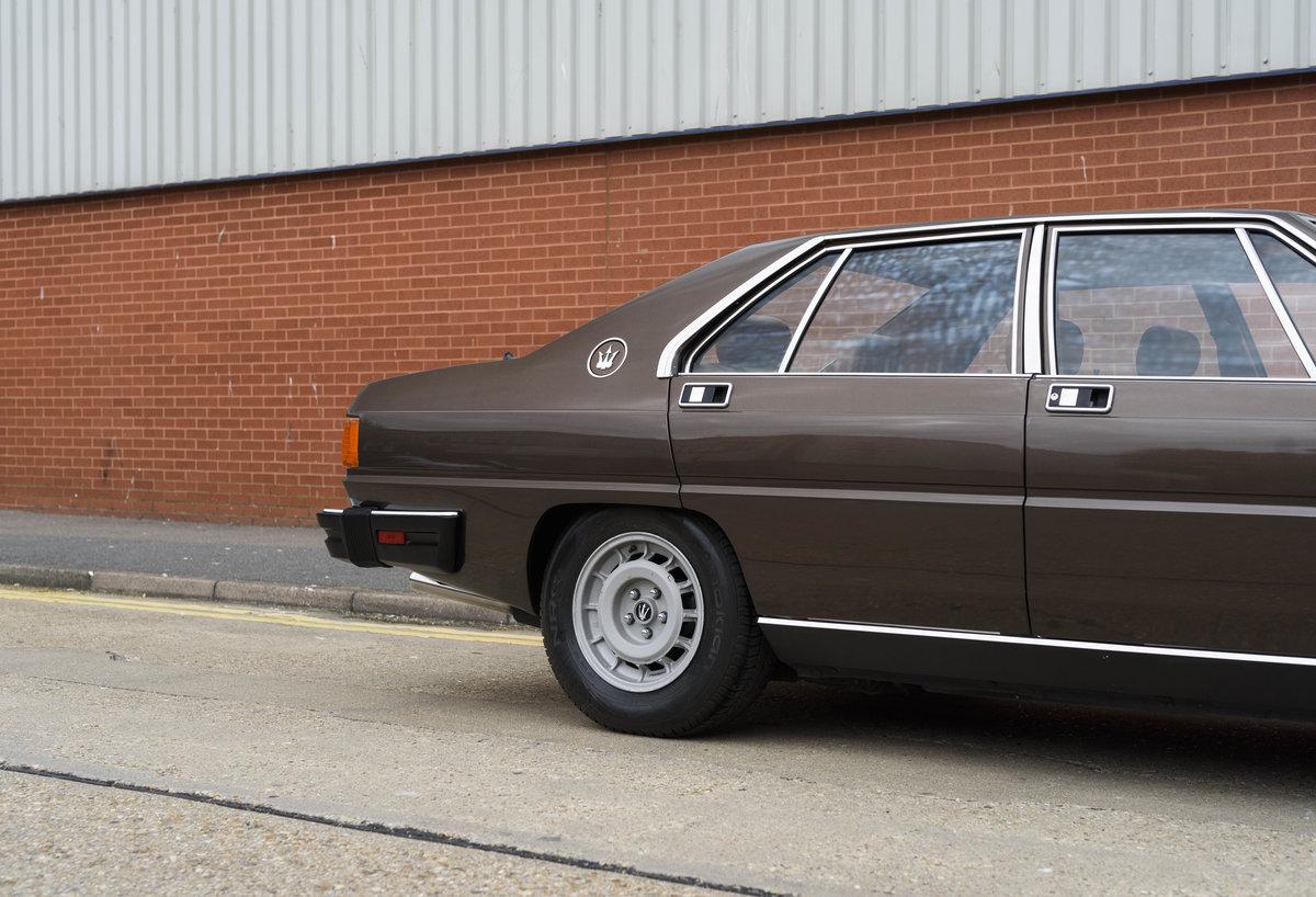 1982 Maserati Quattroporte III (LHD) For Sale (picture 10 of 24)