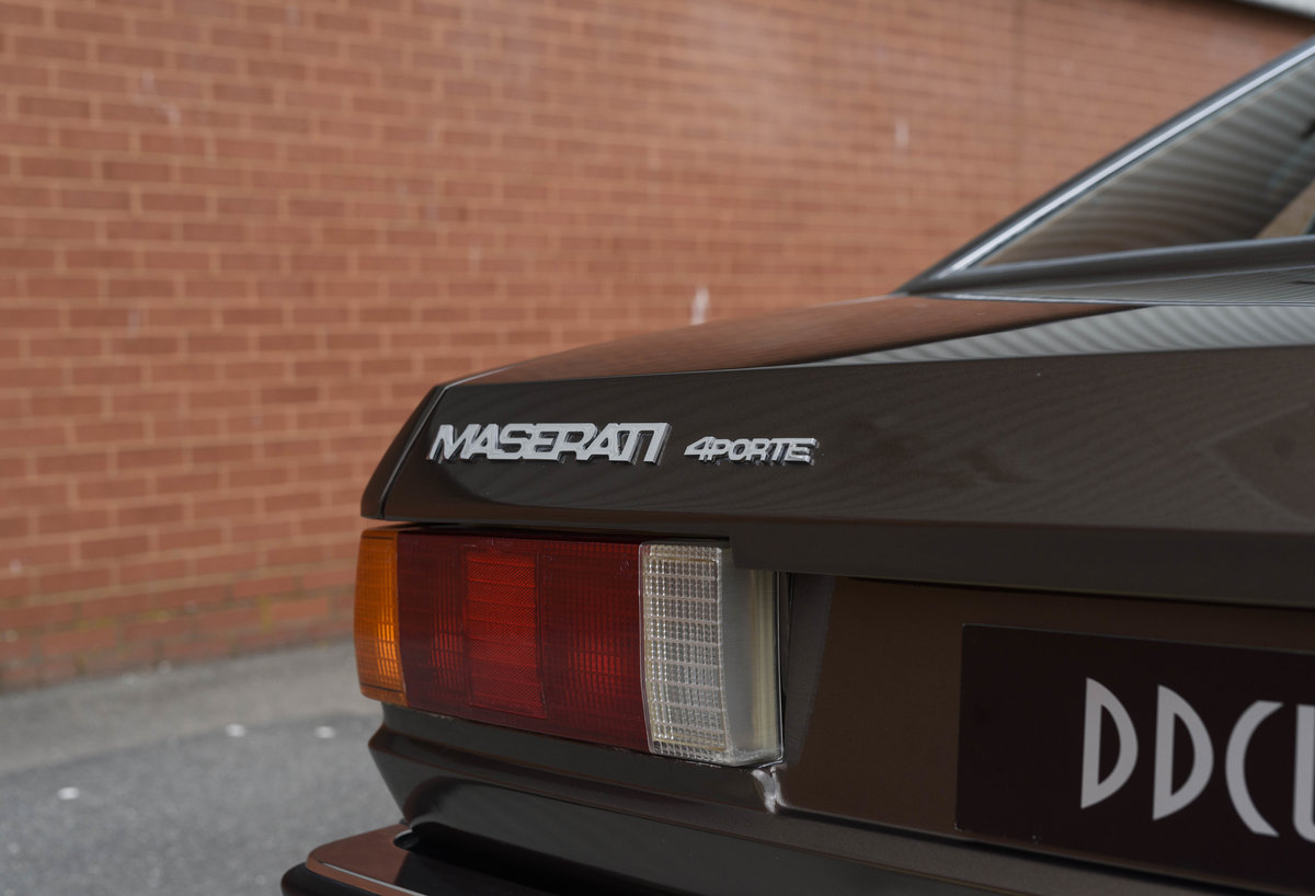 1982 Maserati Quattroporte III (LHD) For Sale (picture 13 of 24)