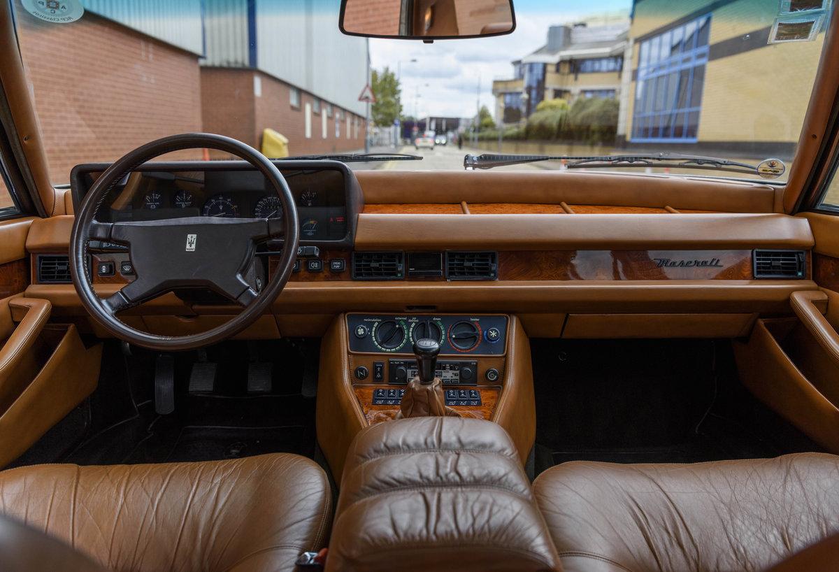 1982 Maserati Quattroporte III (LHD) For Sale (picture 14 of 24)