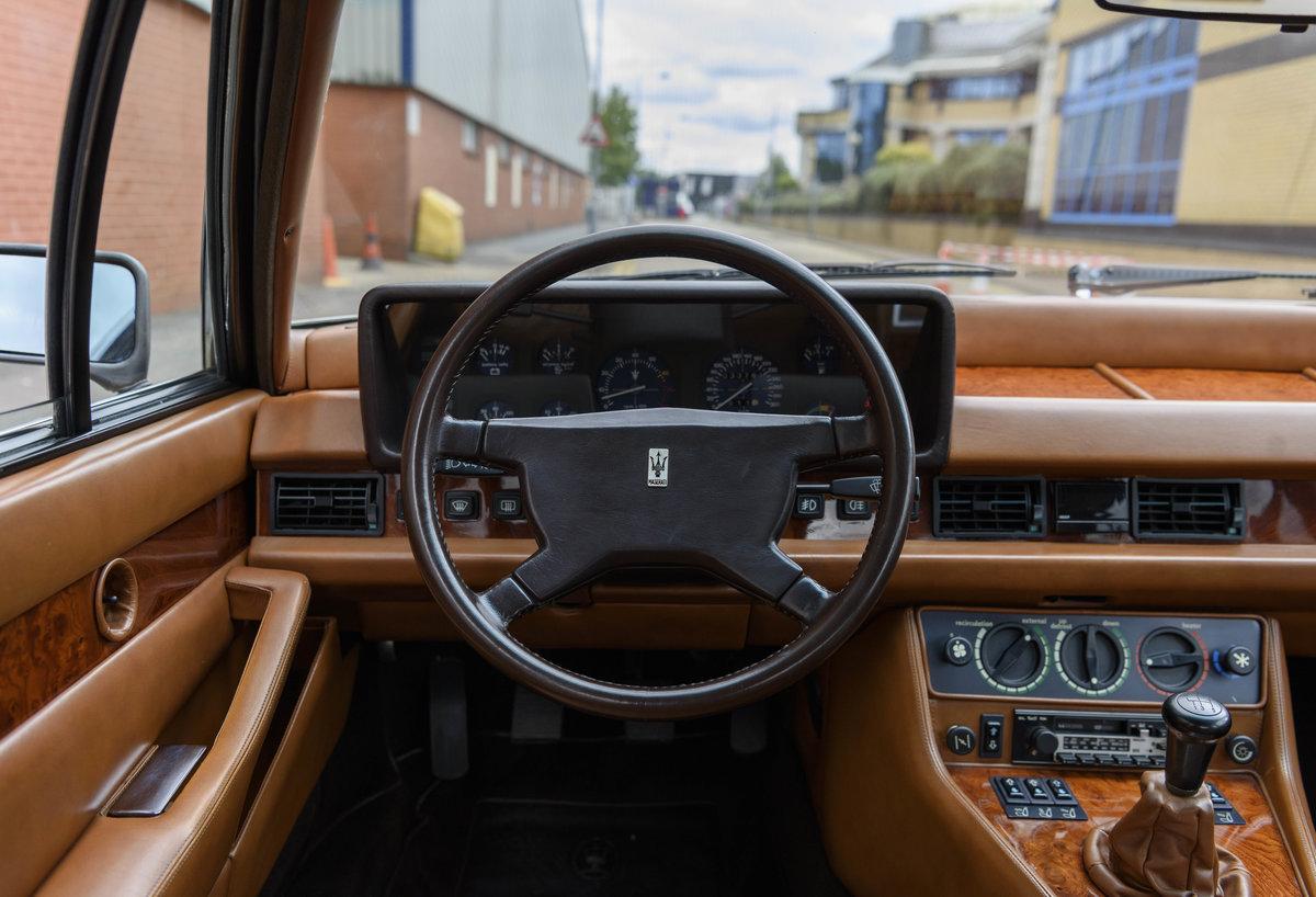 1982 Maserati Quattroporte III (LHD) For Sale (picture 15 of 24)