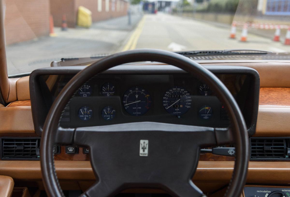 1982 Maserati Quattroporte III (LHD) For Sale (picture 16 of 24)
