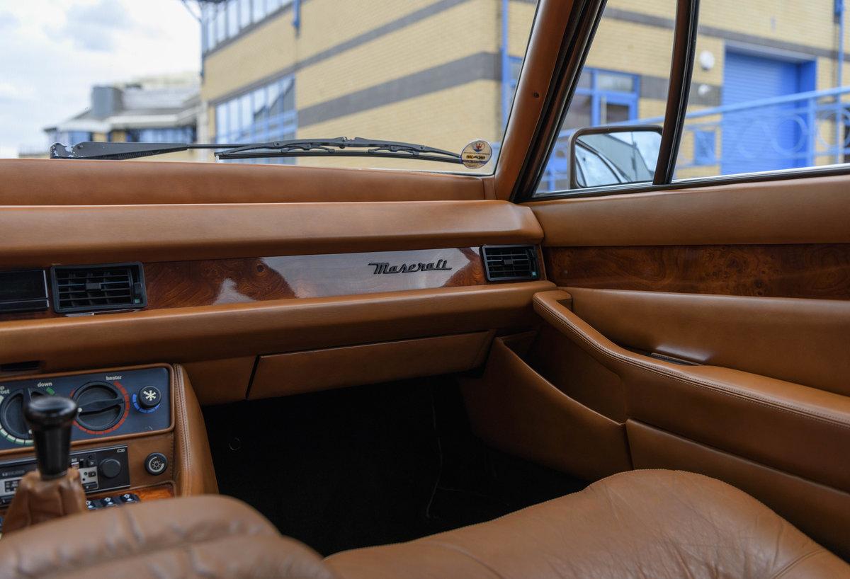 1982 Maserati Quattroporte III (LHD) For Sale (picture 19 of 24)