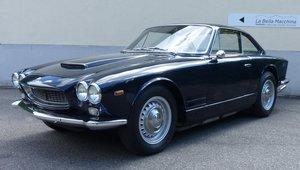 1963 Fantastic Maserati Sebring Mk1, dark-blue, red leather