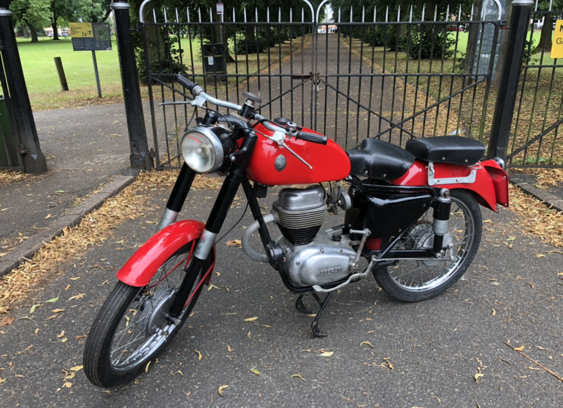 1954 Maserati 160 T4 classic motorcycle  SOLD (picture 2 of 6)
