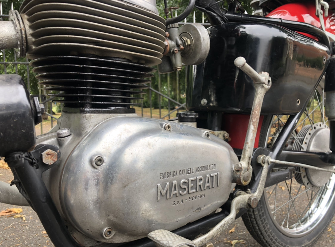 1954 Maserati 160 T4 classic motorcycle  SOLD (picture 4 of 6)