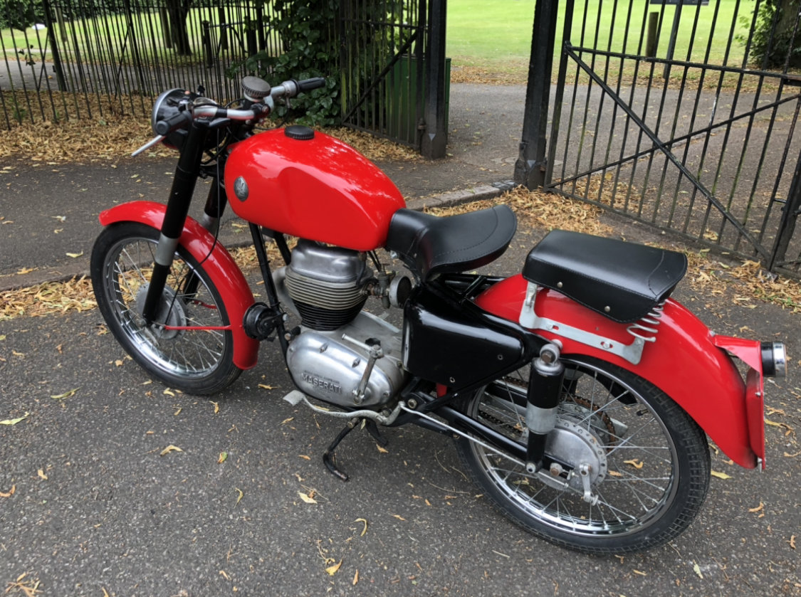 1954 Maserati 160 T4 classic motorcycle  SOLD (picture 5 of 6)