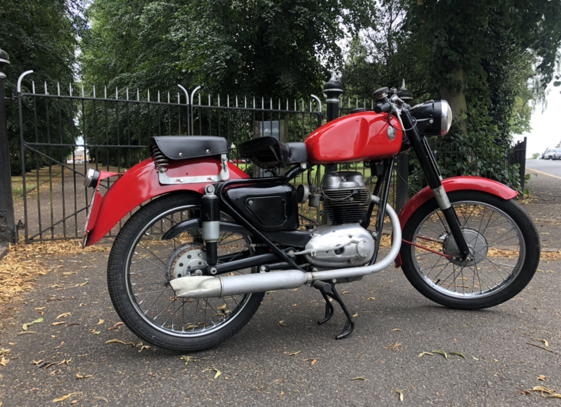 1954 Maserati 160 T4 classic motorcycle  SOLD (picture 6 of 6)