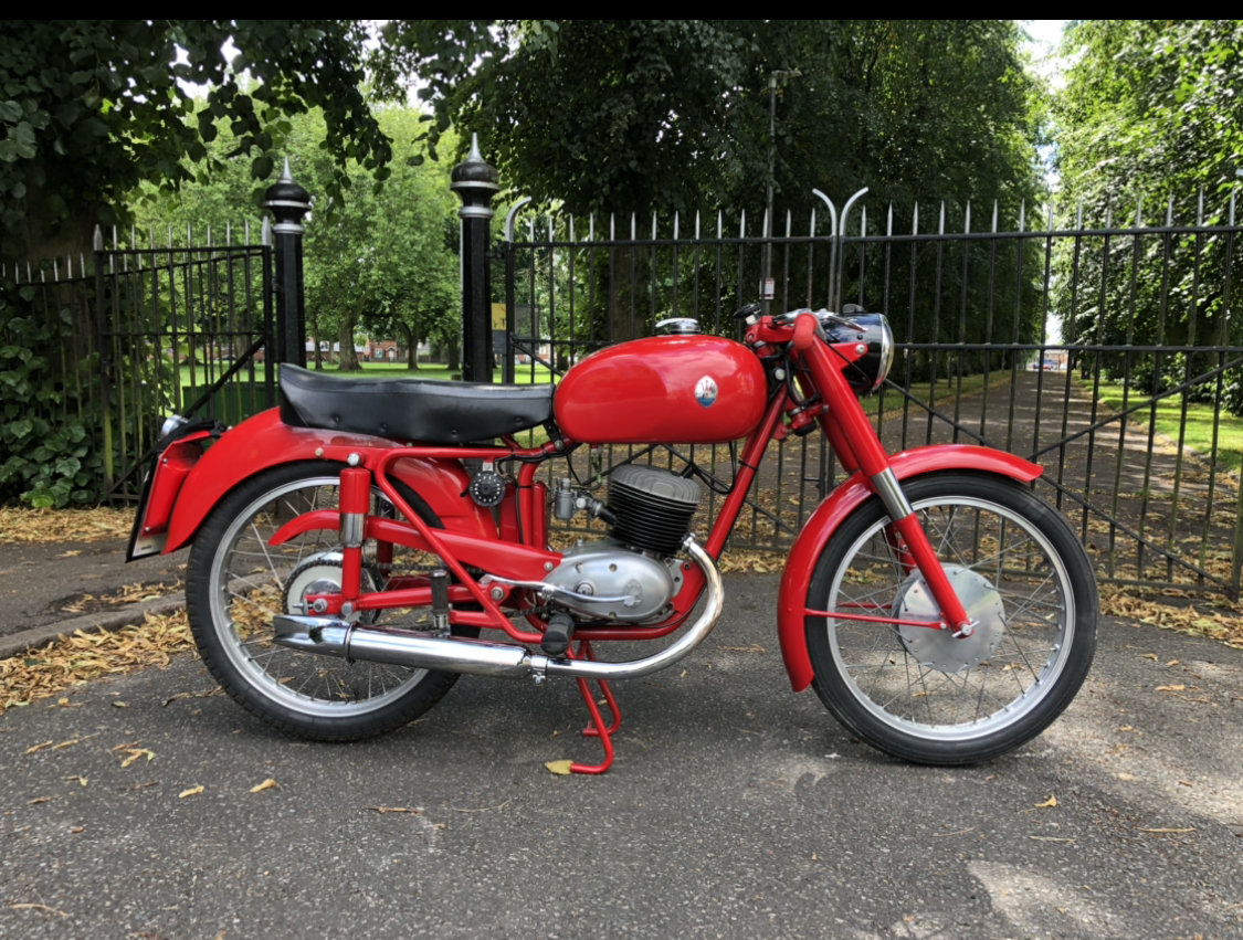 1955 Maserati 125 TV classic motorcycle For Sale (picture 1 of 6)